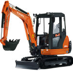 3 Ton Digger KX61 3 Chase Plant Hire
