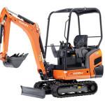 Mini Digger KX015 4 Chase Plant Hire