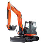 8 Ton Digger KX080 0 Chase Plant Hire