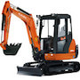3 Ton Digger KX61 3 Chase Plant Hire 90x90